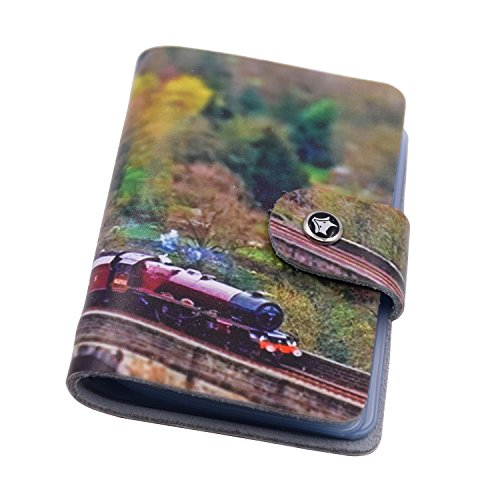 Card Holders Case Wallet  Witery Versatile Soft Premium Leather 26 Pockets Credit Card Holder   Business Card Wallets   Cover   Bank Card Cases  Jungle Train