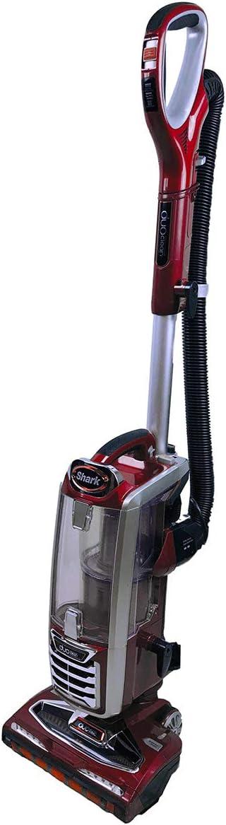 Shark Duoclean Upright Vacuum Cleaner Powered Lift-Away Speed for All Floor Types Anti Allergen HEPA Filter Pet Pro NV801 (Renewed)