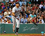 MIGUEL CABRERA AUTOGRAPHED DETROIT TIGERS 16X20 PHOTO #1 - HOME RUN