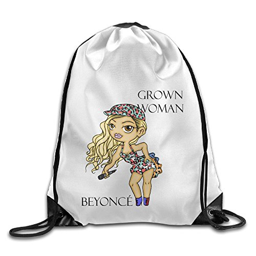 Bekey Beyonce Giselle Knowles Gym Drawstring Backpack Bags For Men & Women For Home Travel Storage Use Gym Traveling Shopping Sport Yoga Running