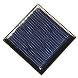 TOOGOO(R) 0.25W 5V solar panel drop glue board DIY solar panels Polycrystalline silicon board 45 45MM