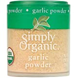 Simply Organic Garlic Powder, Certified Organic | 0.92 oz | Allium sativum L.