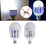 Onpiece 12W E27 Fly Pest Insects Reject LED Zapper Anti Mosquito Light Bulb Lamp