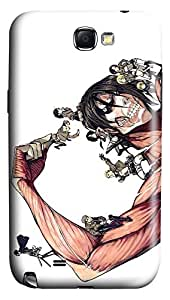 Shingeki No Kyojin Attack1 PC Hard new cell phone cases for galaxy note2