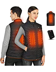 Heated Vest Lightweight,Washable Heated Vests for Men with Battery Pack