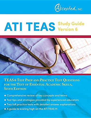 Ati allied health study guide array ati teas study guide version 6 teas 6 test prep and practice test rh fandeluxe Image collections