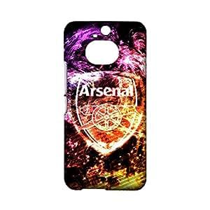3D Arsenal Phone Case Cover for HTC One M9 Plus ,Fashion Popular FC Arsenal Team Logo Custom Premium HTC One M9 Plus Case