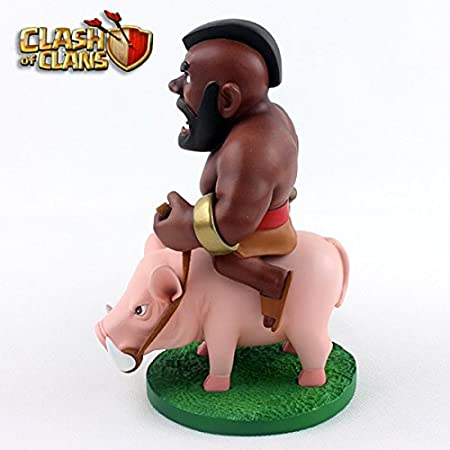 Figura de acción: Clash of Clans Hog Rider(Montapuercos) Action Figure 5.7 Inch: Amazon.es: Juguetes y juegos
