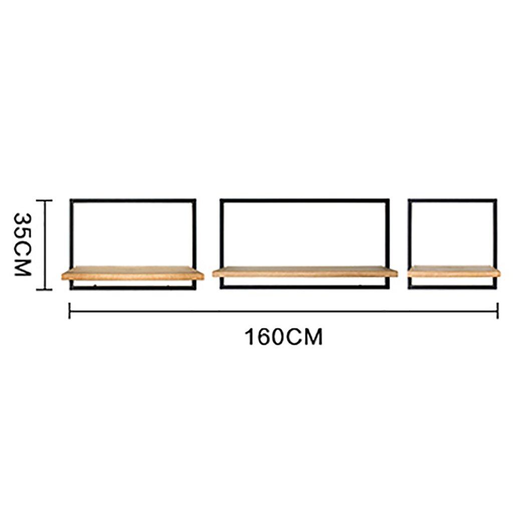 ロフト産業スタイルヴィンテージ鍛造アイアンシェルフレストランバー壁掛けクリエイティブラージペンダント B07SMYF291