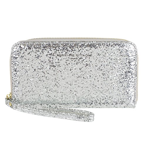 adrienne-vittadini-charging-zip-around-silver-glitter-phone-wallet-wristlet