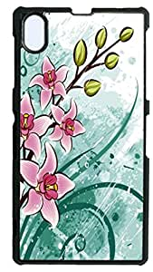 HeartCase Hard Case for Sony Xperia Z1 L39H ( Flower Flowering Rose )