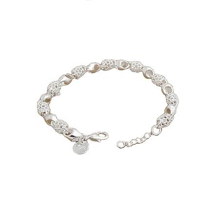 canvivi pulseras mujer 925 plata de ley S017420 joyas pulsera