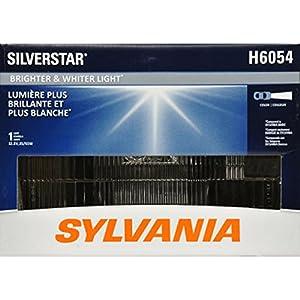 SYLVANIA H6054 SilverStar High Performance Halogen Sealed Beam Headlight 142x200, (Contains 1 Bulb)