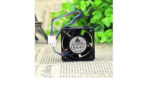 DeXiang For Delta EFB0412VHD DC12V 0.18A 4020 3-wire 4cm 1U Server Fan