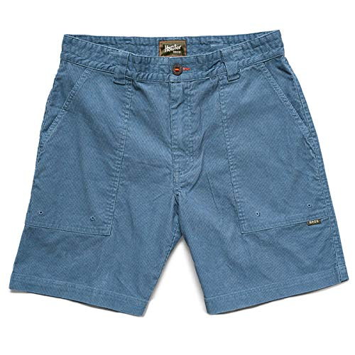 Howler Brothers Cornerstone Corduroy Short - Mid Blue - 36