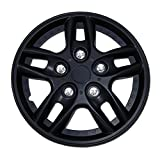 1987 chevy caprice hub caps - TuningPros WSC-515B15 Hubcaps Wheel Skin Cover 15-Inches Matte Black Set of 4