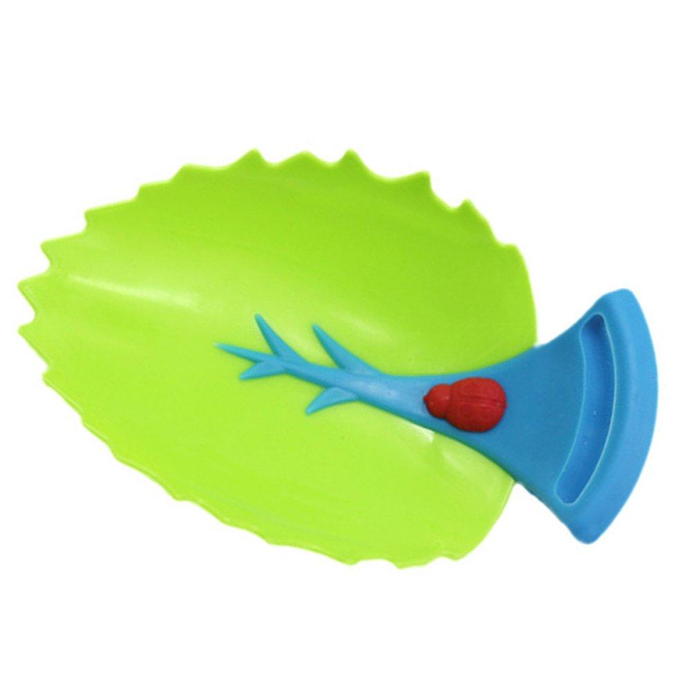 Nelnissa Motif feuille robinet Extender pour enfants Lavage /à la main Outil de guide de leau du robinet
