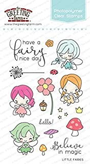 Amazon the greeting farm little mermaids clear stamps arts the greeting farm little fairies clear stamps m4hsunfo