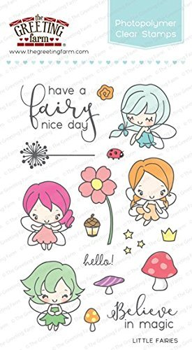 Amazon the greeting farm little fairies clear stamps home the greeting farm little fairies clear stamps m4hsunfo