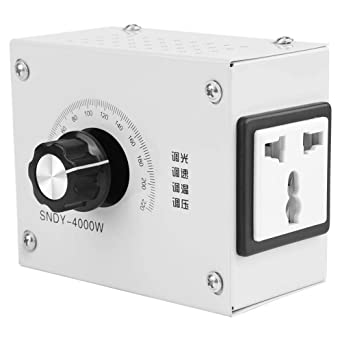 Keeno 4000W AC 220V controlador de voltaje variable controlador de ...