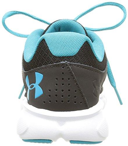 Thrill Chaussures Under Femme Noir de Black Armour Running wB55Tq7fAn