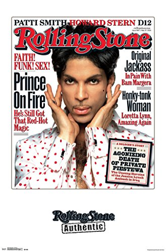 Rolling Stone Prince Magazine Cover Poster