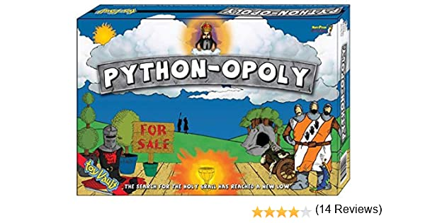 Toyvault Python-Opoly Board Game: Amazon.es: Juguetes y juegos