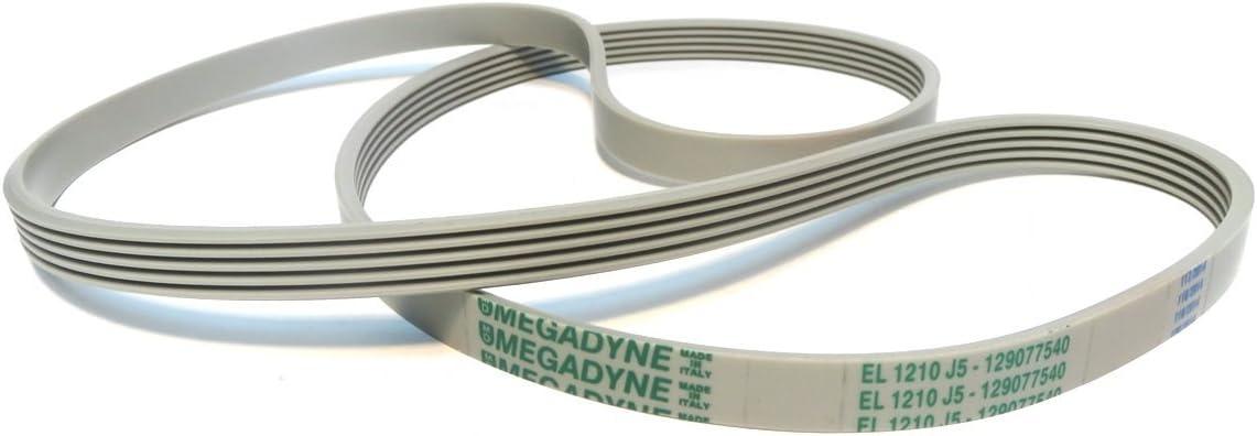 Megadyne - Correa de lavadora EL 1210 J5 (129077540)