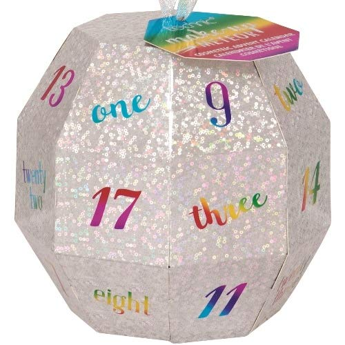 SUPER Teenager Glamour Make-up Glitter Ball Adventskalender Advent of Beauty Surpris 24 teilig Beautycase