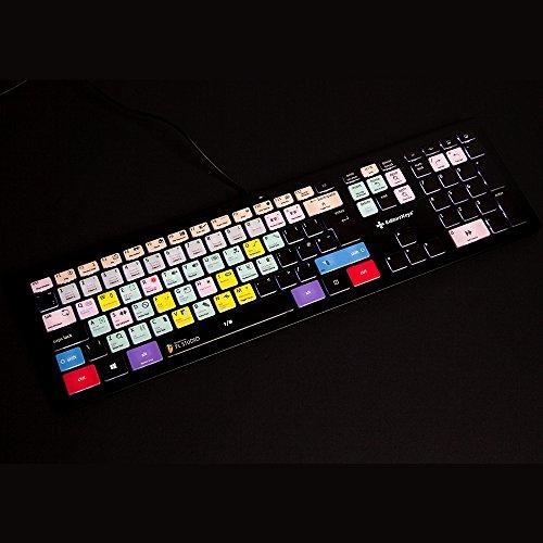 FL Studio Backlit Keyboard for PC - Edit Faster in FL Studio (Formally Fruity Loops) - Genuine Editors Keys Keyboard
