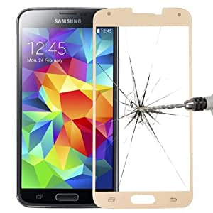 ATJC workshop Colorful Premium Tempered Glass Screen Protector for Samsung Galaxy S5 G900 (Champagne)