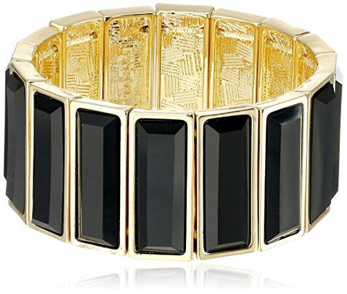 t-tahari-straight-forward-gold-and-jet-stretch-bangle-bracelet
