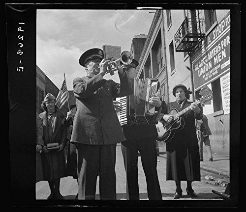 1939 Photo Trio. Salvation Army, San Francisco, California Location: California, San Francisco, San Francisco County - Lighting Wall Trio