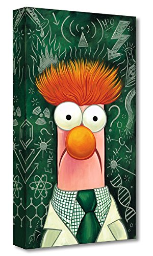 Disney Fine Art The Muppets:Beaker by Tim Rogerson - Limited Edition 1,500 Gallery Wrapped Canvas - 20x10 NEW - Disney Treasures on Canvas - Published by (Limited Edition Pooh)