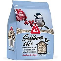 TMF 100% Premium Quality Safflower Bird Seed , 5 lb