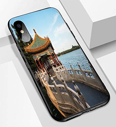 - iPhone X/XS Ultra-Thin Glass Back Phone case,China Beijing Imperial Garden Soft and Easy to Protect The Protective case