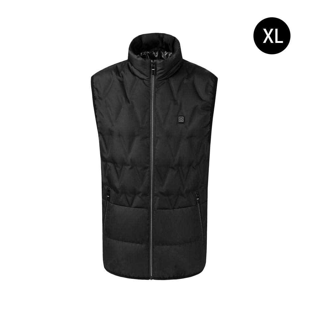 Vest Tops Women Men Heated Vest USB Charging Electric Unisex Warm Clothing Face Beautification and Body Shaping for Outdoor Riding Skiing Fishing Graphene Carbon Fiber Heating CampHiking®