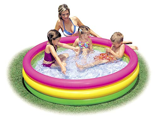 Intex Kiddie Pool - Kid's Summer Sunset Glow Design - 58