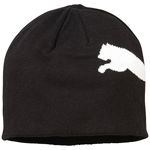 PUMA Mütze Big Cat/No.1 Logo Beanie, Black-Big Cat, OSFA, 834016 42