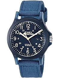 Unisex TW4B09600 Expedition Acadia Mid-Size Blue Nylon Strap Watch
