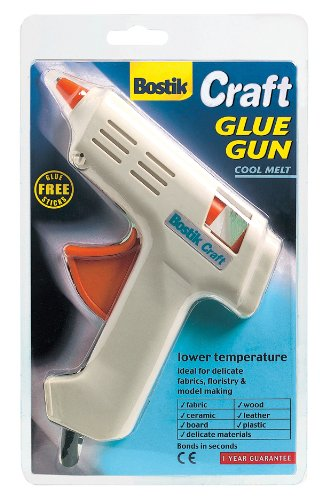 4 x Bostik Cool Melt Craft adhesive glue gun with 8 free all purpose glue sticks 80718 by Bostik