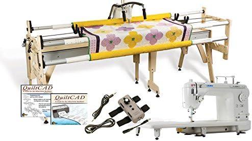 JUKI tl2000qi long-arm máquina, Gracie Reina marco & QuiltCAD ...