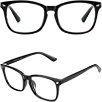 Cyxus Blue Light Blocking Computer Glasses Square Frame Gaming Reading UV Filter Eyeglasses