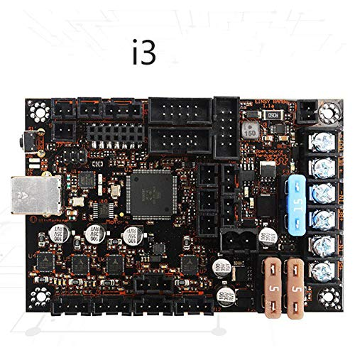Ocamo 1.1a Mainboard 3D Printer Parts for Reprap Prusa i3 MK3 with 4 Trinamic TMC2130 Stepper Drivers SPI Control 4 Mosfet Switched ()