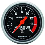 Auto Meter 3374 Sport-Comp Electric Nitrous Pressure Gauge