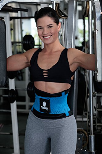 ceeb8a457a Tecnomed Belt Slimming Body Shaper Back Pain   Lumbar Support Cincher M-BLUE