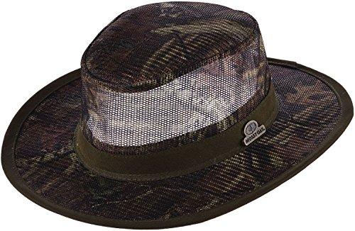 Dorfman Pacific Mossy Oak Men's Camo Mesh Safari Hat (Mossy Oak Infinity,Large) ()