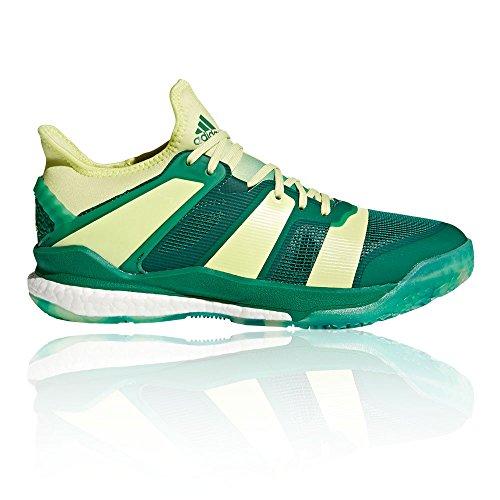 Adidas Mannen Stabiel X Handbal Schoenen Groen (beschikbaarheid Gecontroleerd / Seamhe / Veruni 000)