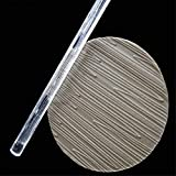 Wave wood shape Acrylic Rolling Pin, Textured Embossed Rolling Pin,Transparent Fondant Pastry Cupcake Sugar Roller Pin DIY Craft Gift Decoration Tool Kitchen Baking Supplies - Clear, 16x1 cm