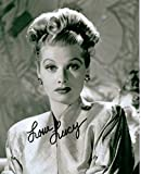 Lucille Ball 8 X 10 Classic TV Actress Autograph on Glossy Photo Paper